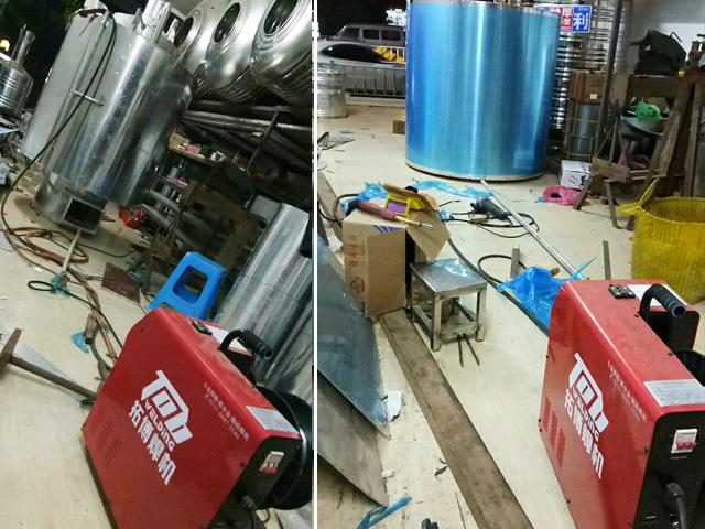 铝锅炉铝焊机