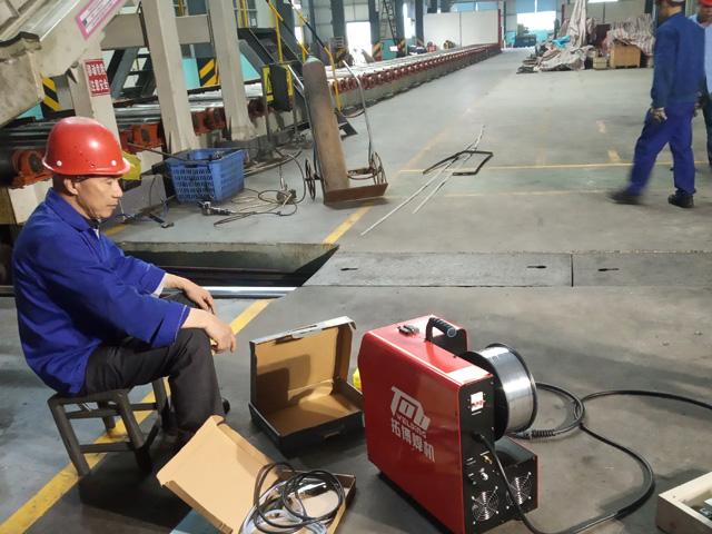铝焊机焊接铝金板、带、箔包装卷