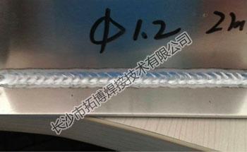 手提式多功能铝焊机焊接效果