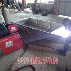 铝渔船焊接视频