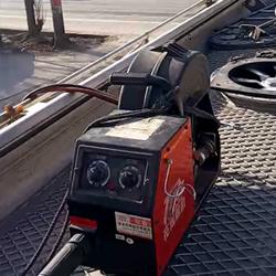 铝焊机焊接铝油罐车
