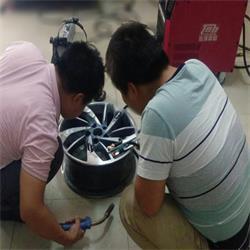 <b>铝合金车轮毂焊接修复拉丝案例</b>