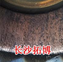 铜焊机焊接电枢紫铜操作